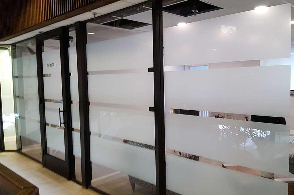 Transform Glass Panels by Retrofitting Decorative Window Films - Decorative Glass Film