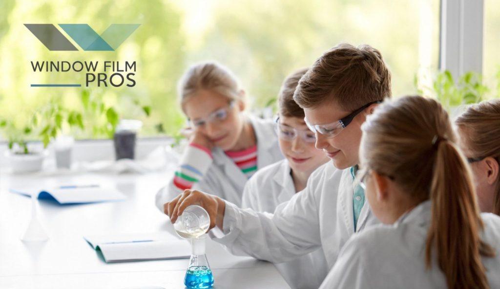Back to School Safety Vulnerabilities - Window Film Retrofit Addresses Weakness - Security Window Film for School Security and Student Safety