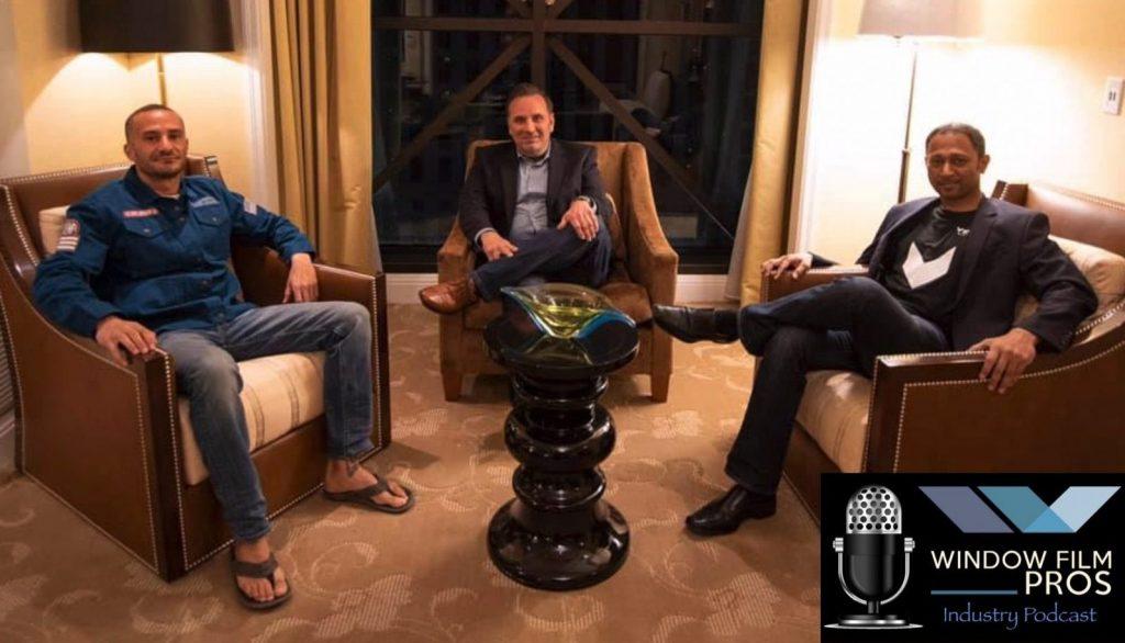 Window Film Pros Podcast at SEMA With Harry Rahman & Eric Devash