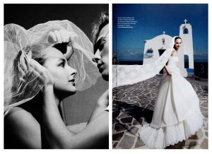 wedding magazine photoshooting