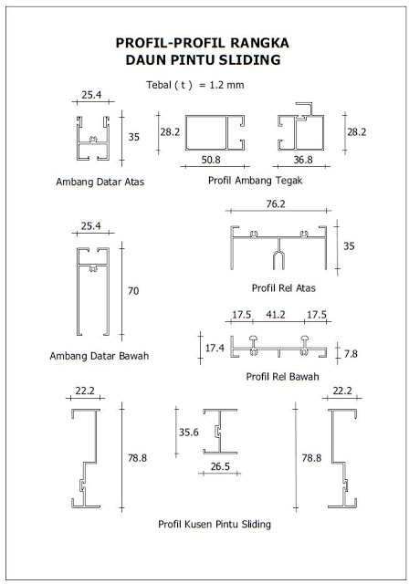 Profil Aluminium Alexindo