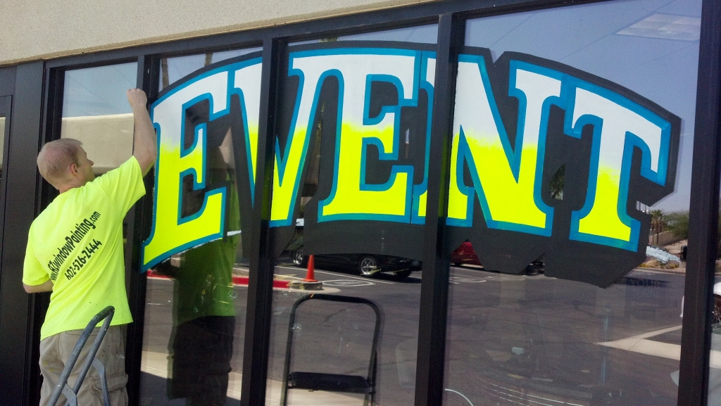 storefront window signs  Window Painting  Sign Painting  call 18002011759