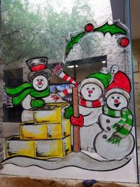 holiday window painting | Window Painting & Sign Painting ...