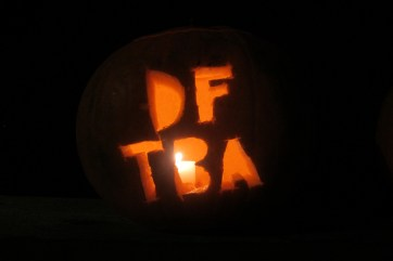 My nerdfigher pumpkin. Don't forget to be awesome.