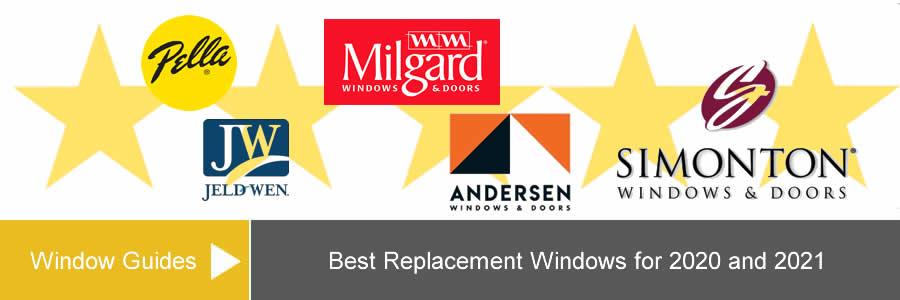 best replacement window brands
