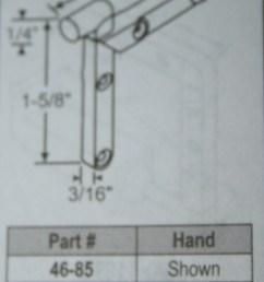 corner key 46 84 handed 1 5 8 x 1 5 8 die cast [ 1337 x 2185 Pixel ]