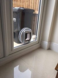 Fitting a cat flap in a double glazed door! - Window ...