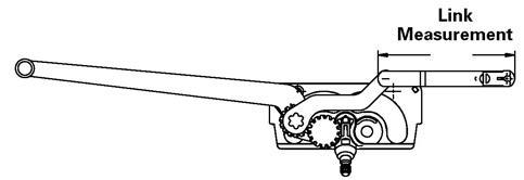 Window RestoreCaradco Operator Dual-Arm CC101