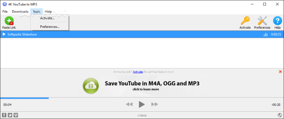 4K YouTube to MP3 Working 100% Activation & Free File Free