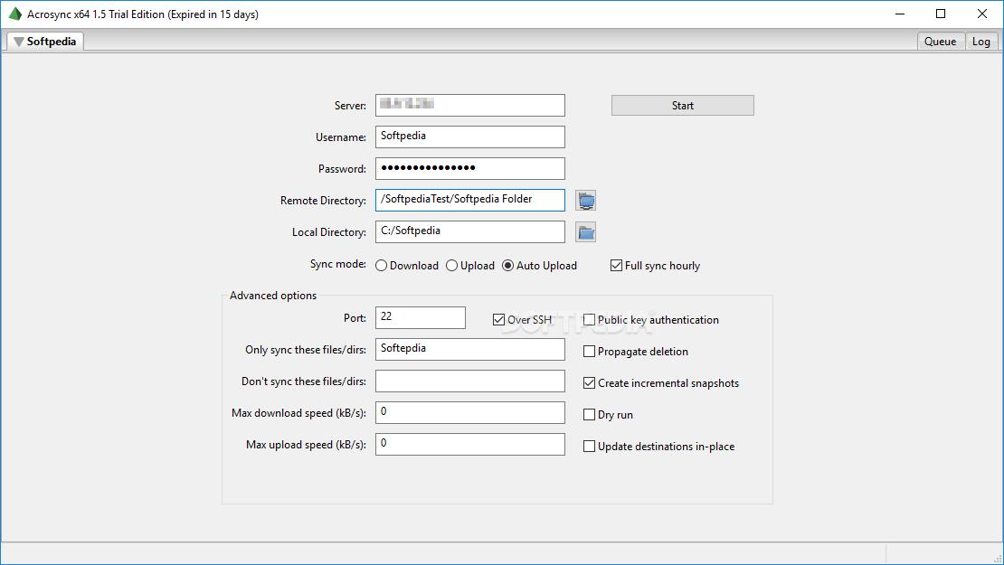 Download Acrosync 1.6 Build 536