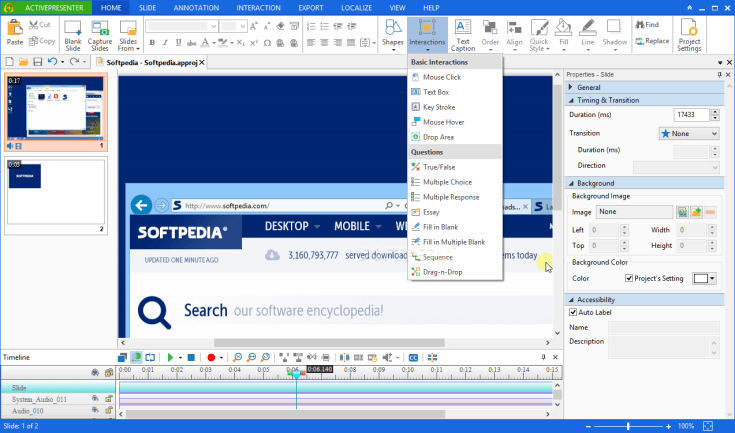 ActivePresenter Professional Edition 11.44 Full Keygen Cracked