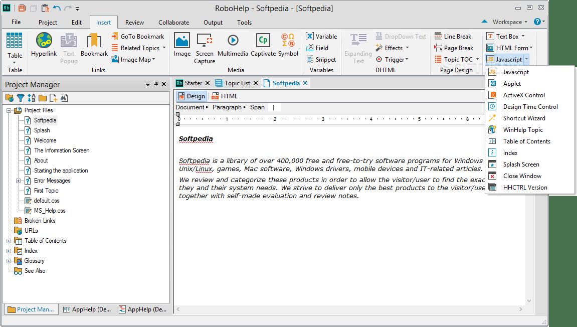 Download Adobe RoboHelp 2019.0.4