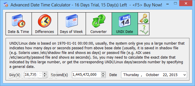 Advanced Date Time Calculator 9 1077 Key Plus File Download 2019