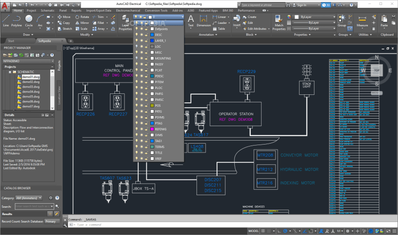 Autodesk AutoCAD Electrical 20192019.1.1 Download