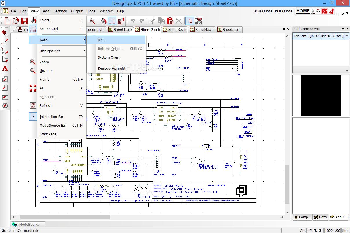 hight resolution of designspark pcb 8 0 8 1 beta