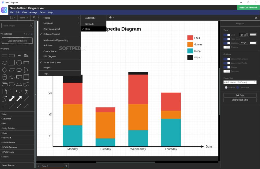 medium resolution of  draw diagrams screenshot 7