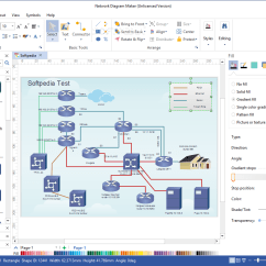 Software To Create Network Diagram 1992 Ezgo Marathon Wiring Download Maker 8 7 5 The Application Is Specially Designed Help You Comprehensive Schematics