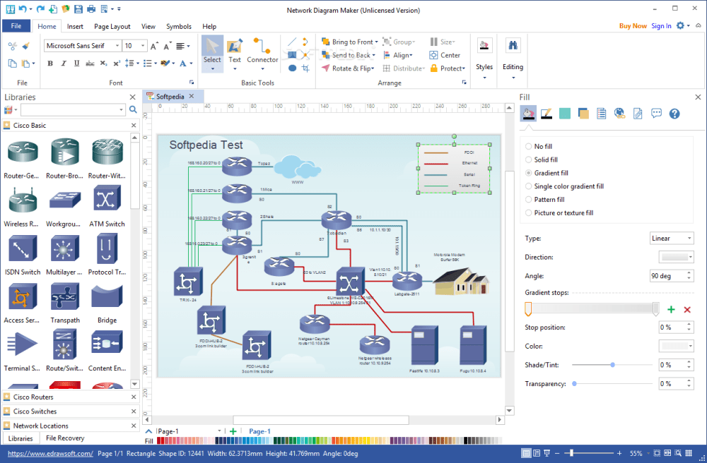 medium resolution of network diagram maker the application is specially designed to help you create comprehensive network schematics