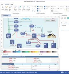 network diagram maker screenshot 6  [ 1274 x 837 Pixel ]