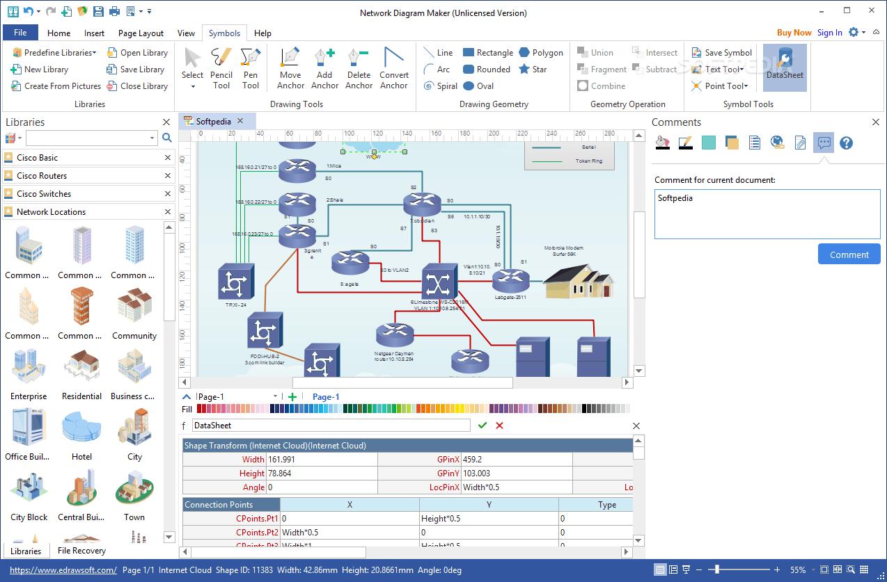 hight resolution of  network diagram maker screenshot 6