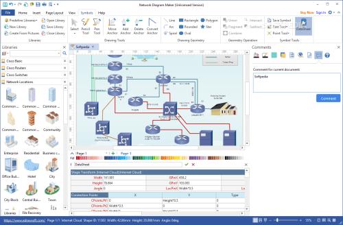 small resolution of  network diagram maker screenshot 6