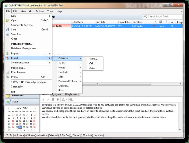 EssentialPIM Pro 8.52 Torrent Download 2019
