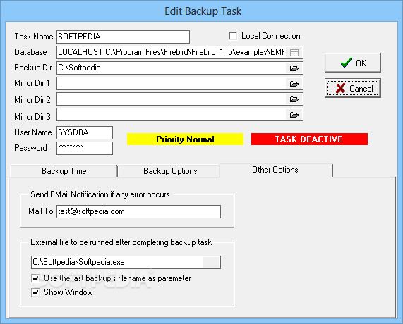 Download FIBS FirebirdInterbase Backup Scheduler 200