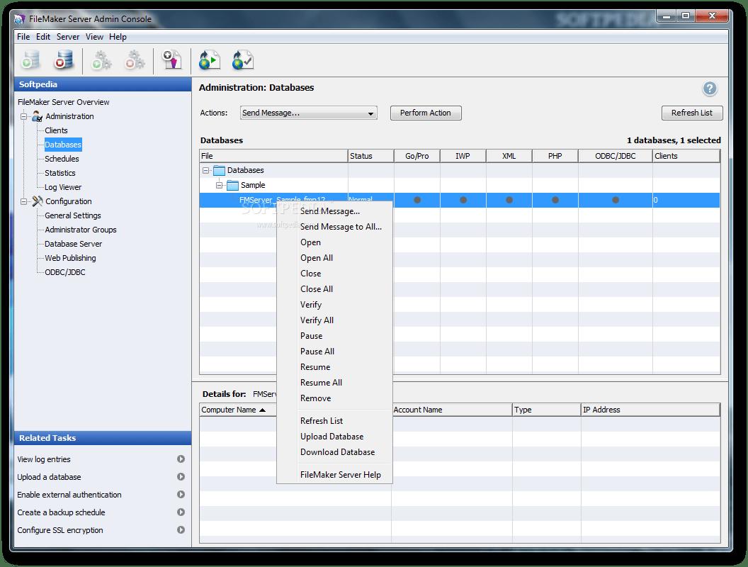Download FileMaker Server 1309905