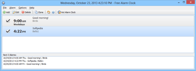 Free Alarm Clock 4 0 1