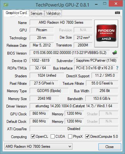 GPU-Z 2.20.0 File 2019 Download