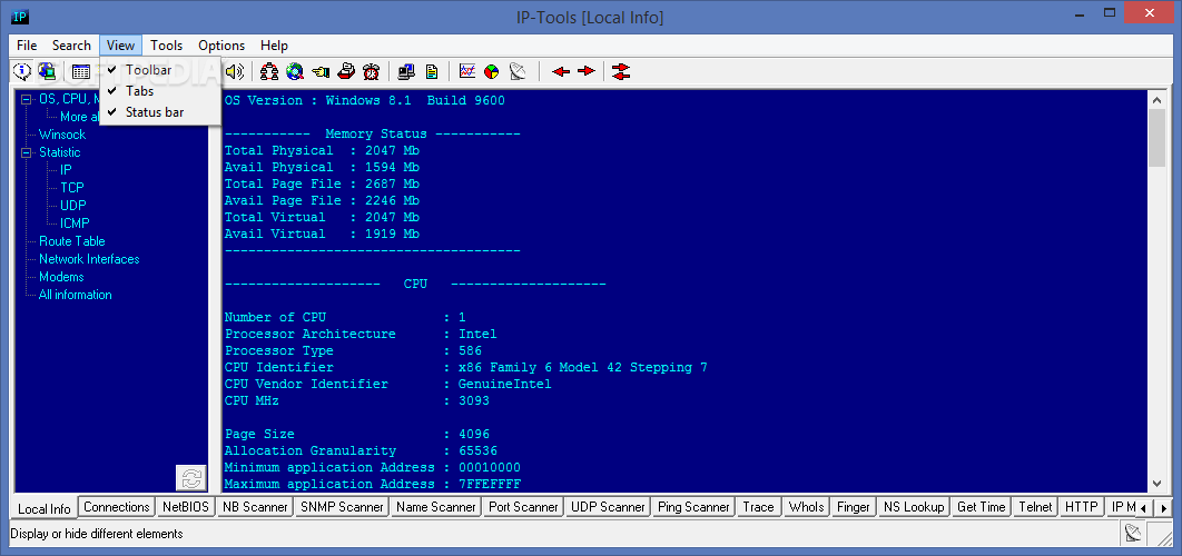 Download IP-Tools Lite 2.74