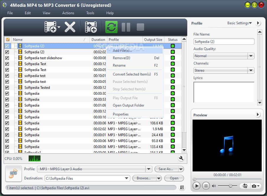 Mac App Convert Mp4 To Mp3