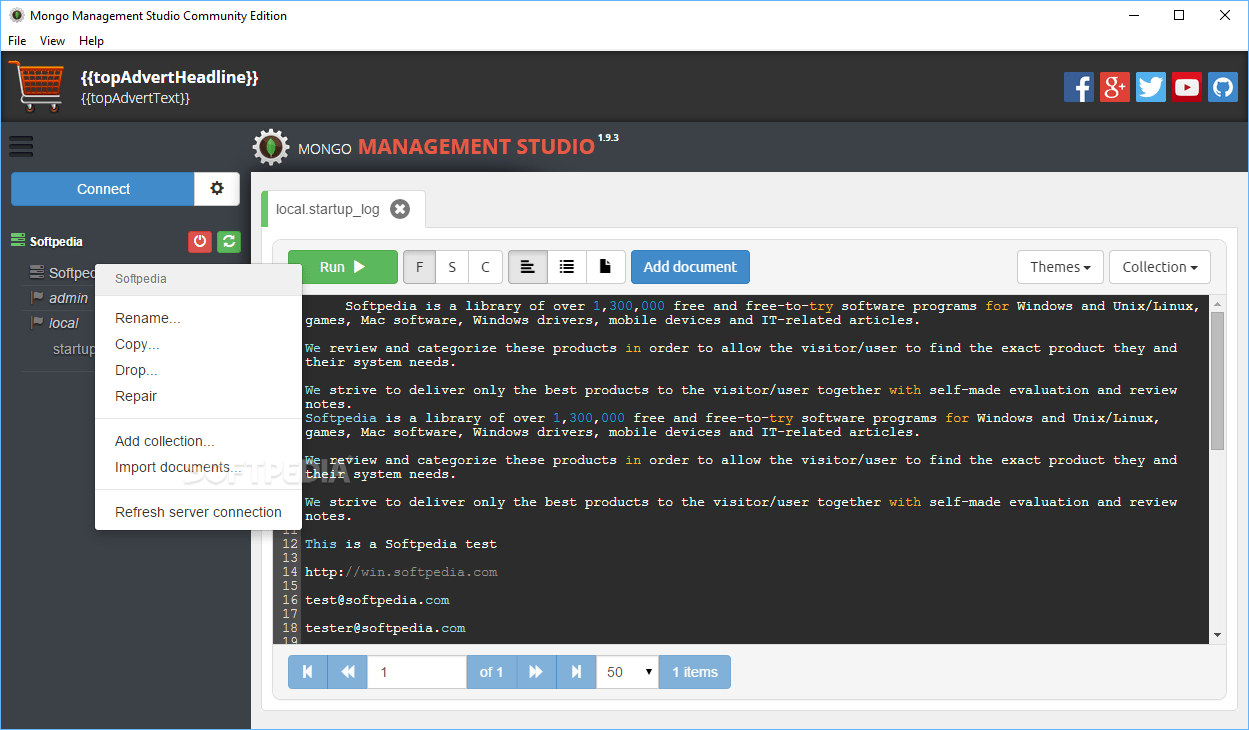 Download Mongo Management Studio