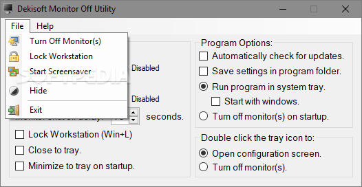 Download Monitor Off Utility 1.0