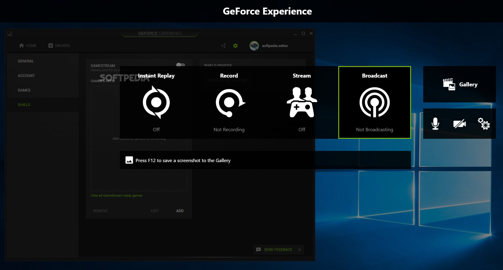Download NVIDIA GeForce Experience 3.20.4.14