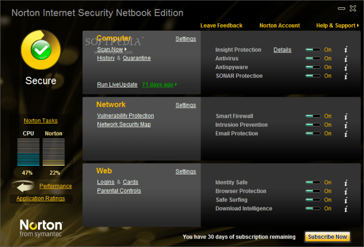 free norton antivirus download for pc with crack
