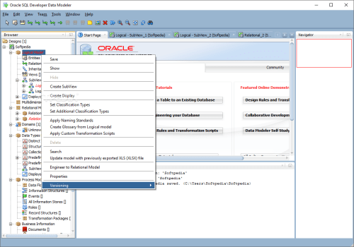 small resolution of  oracle sql developer data modeler you can apply naming standard for your logical model