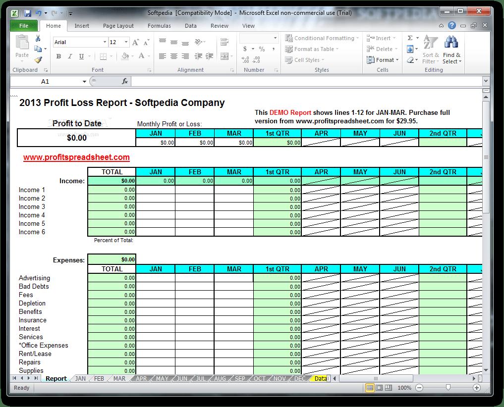 Download Profit Loss Report 7.0