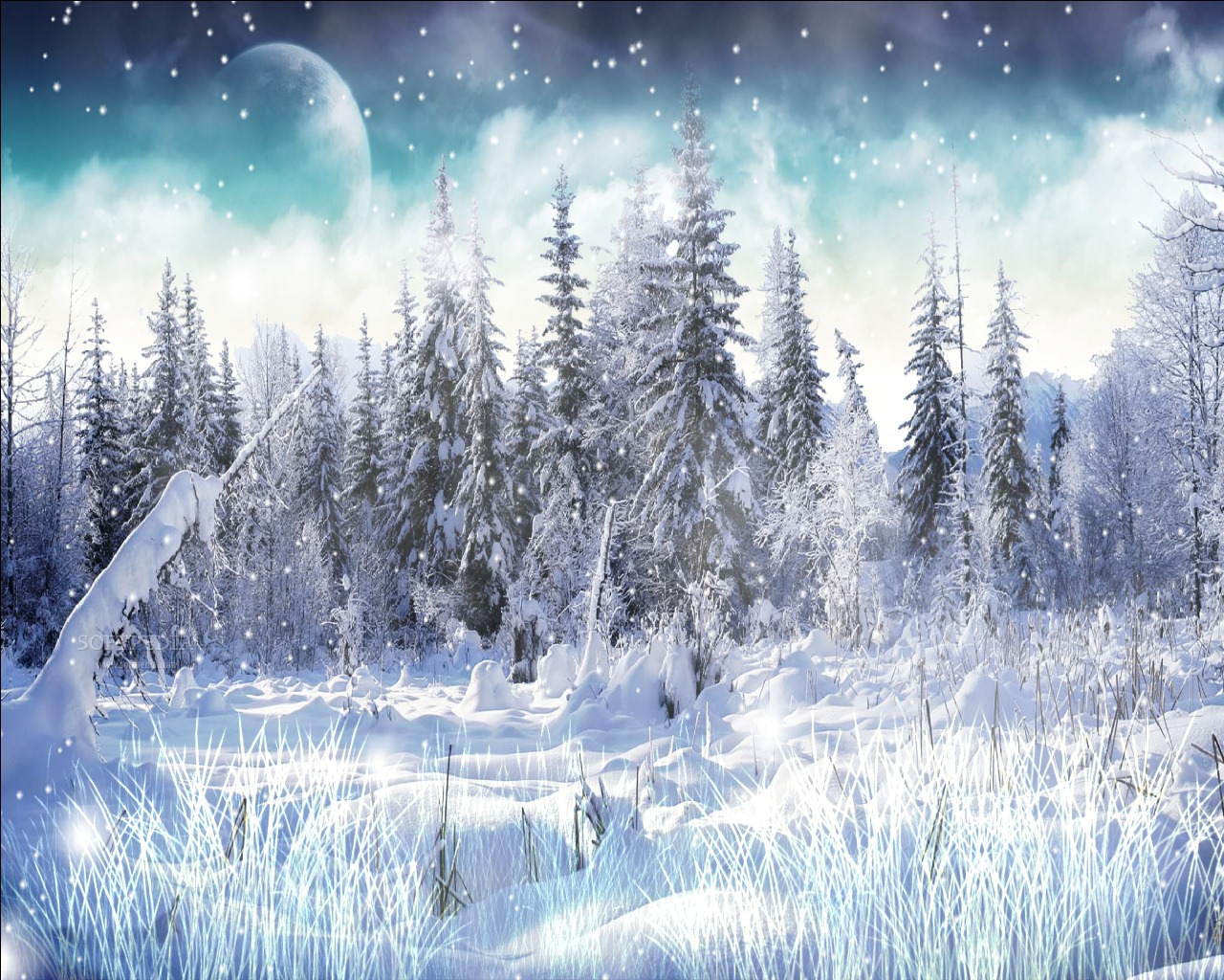 Falling Snow Live Wallpaper For Pc Download Winter Snow Screensaver 1 0