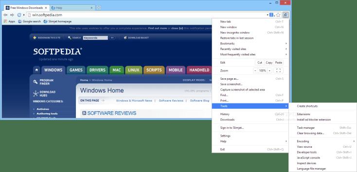 Slimjet 26.0.7.0 Download