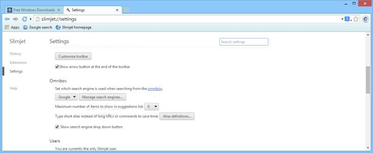 Slimjet 24.0.5.0 Working File