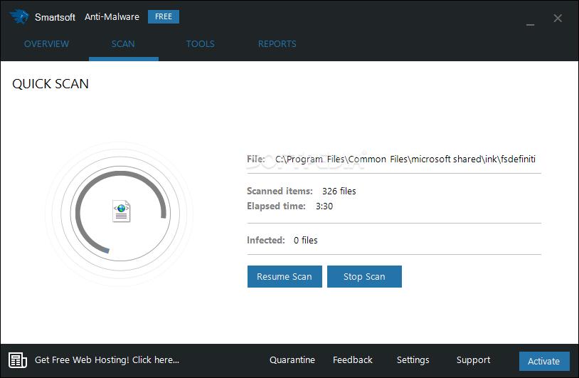 Download Smartsoft Anti-Malware Free 1.3.1.0