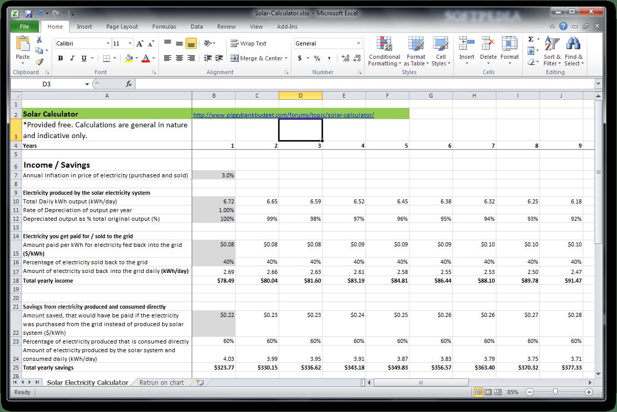 Download Solar Calculator
