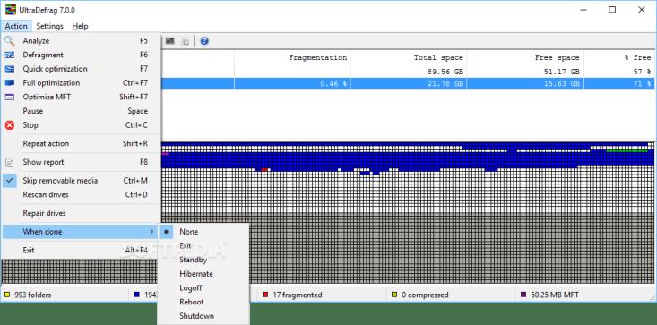 UltraDefrag 9.0.1 Working 100% File