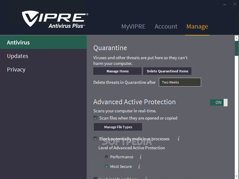 Download Vipre Antivirus 2016 9 5 1 4