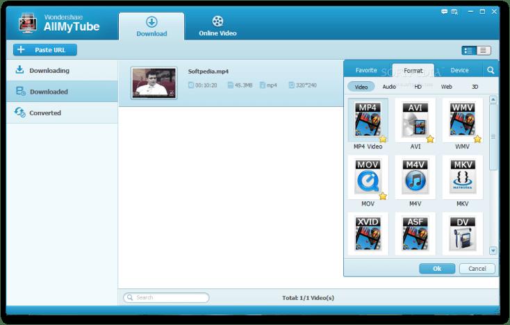 Wondershare AllMyTube 7.4.3 Working Torrent Portable