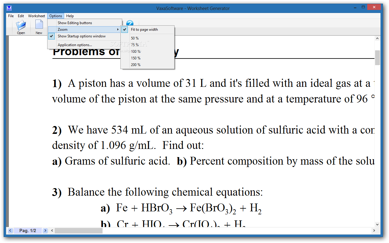 Download Worksheet Generator For Chemistry 1 7