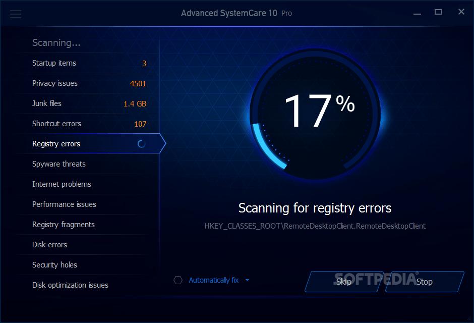 Download Advanced SystemCare Pro 11.5.0.242 / 12.0.1.140 Beta