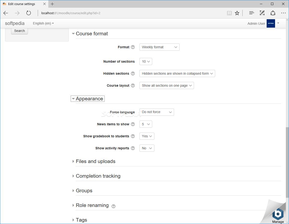 Download BitNami Moodle Stack 3.8.0-1
