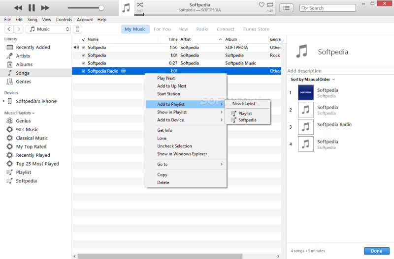 iTunes 12.10.7.3 Working File